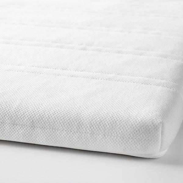 TUDDAL Matratzenauflage weiß 200 cm 140 cm 5 cm