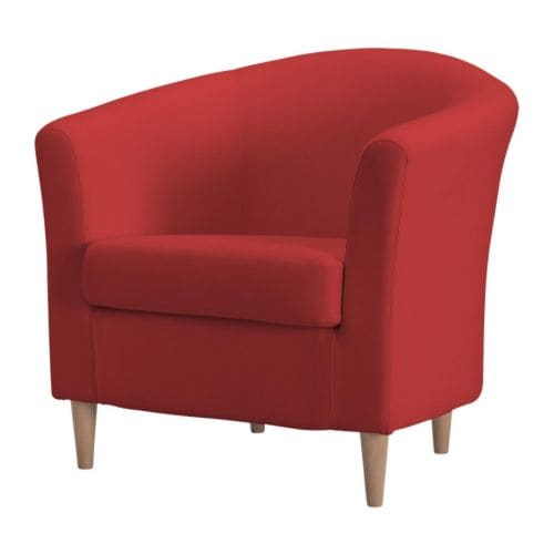 Tullsta sessel ransta rot ikea for Sessel in rot