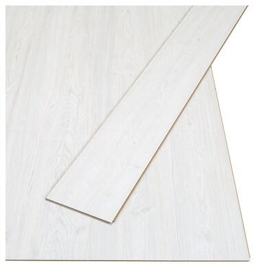 TUNDRA Laminatfußboden gekalkt Kiefernachbildung 128.6 cm 19.4 cm 7 mm 14 kg 2.25 m² 9 Stück