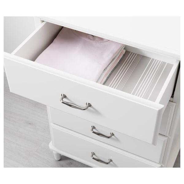 TYSSEDAL Kommode mit 4 Schubladen, weiß, 67x102 cm