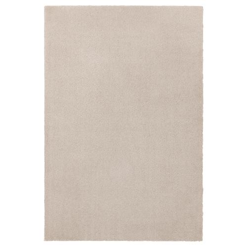 TYVELSE Teppich Kurzflor elfenbeinweiß 195 cm 133 cm 14 mm 2.59 m² 3000 g/m² 1880 g/m² 13 mm
