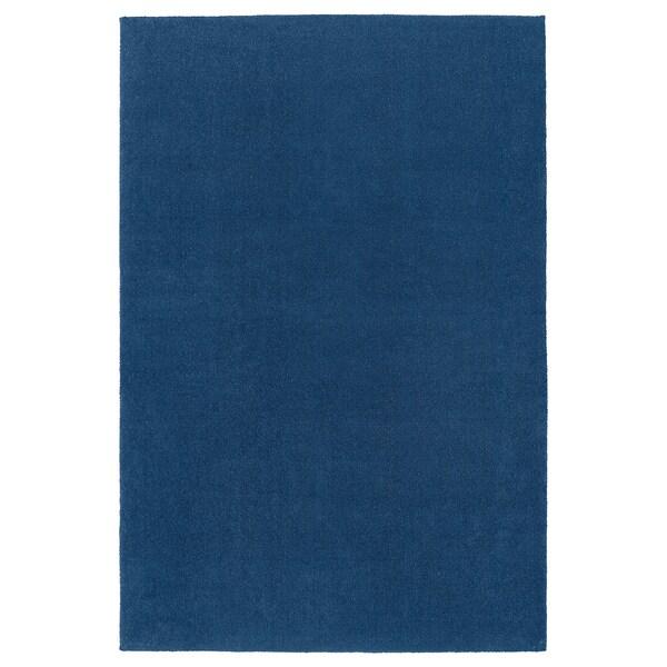 TYVELSE Teppich Kurzflor, dunkelblau, 200x300 cm