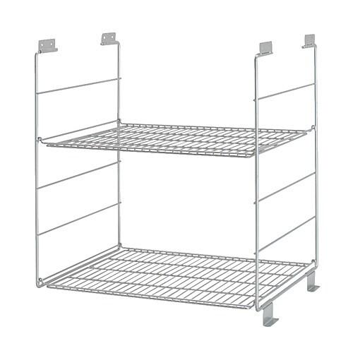 Ikea Schrank Rakke Gebraucht ~ IKEA  UDDEN, Drahtablage, 2 versetzbare Böden für bedarfsangepasste