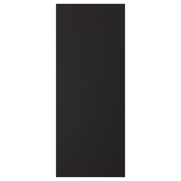 UDDEVALLA Tür mit Kreidetafeloberfläche, anthrazit, 40x100 cm