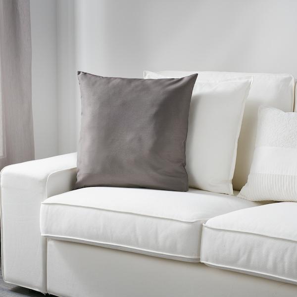 ULLKAKTUS Kissen, grau, 50x50 cm