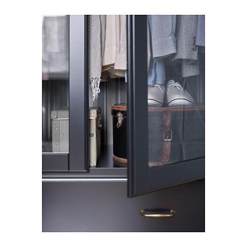 Schrank ikea schwarz  UNDREDAL Kleiderschrank - IKEA