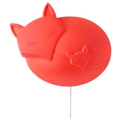 UPPLYST Wandleuchte, LED, Fuchs orange