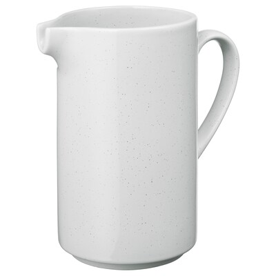UPPVAKTA Vase weiß 20 cm