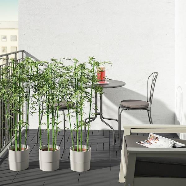 UTLÄNGAN Bodenrost/außen, grau las., 0.90 m²