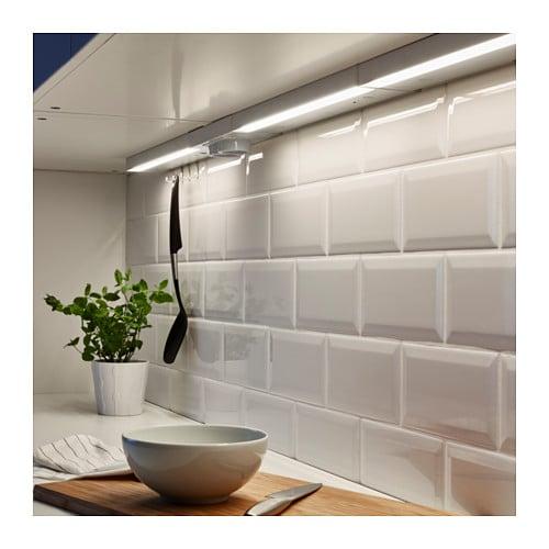 Utrusta Arbeitsbeleuchtung Led Weiss 40 Cm Ikea