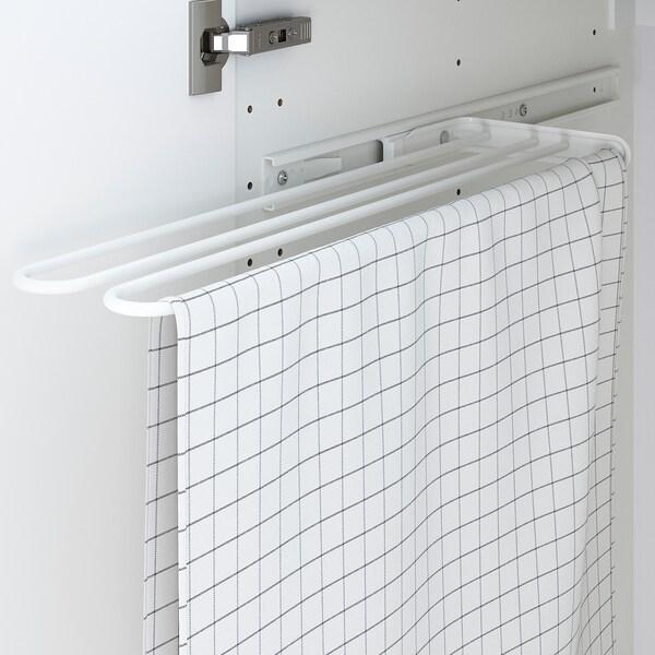 UTRUSTA Handtuchstange, weiß, 16 cm