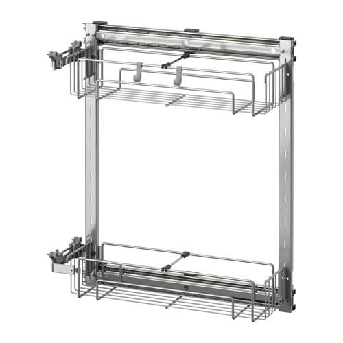 Ikea Unterschrank Abfalltrennung ~ FAKTUM Unterschrank mit Auszug  Applåd grau, 30 cm  IKEA