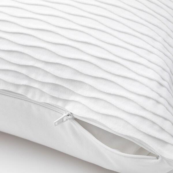 VÄNDEROT Kissen, weiß, 50x50 cm