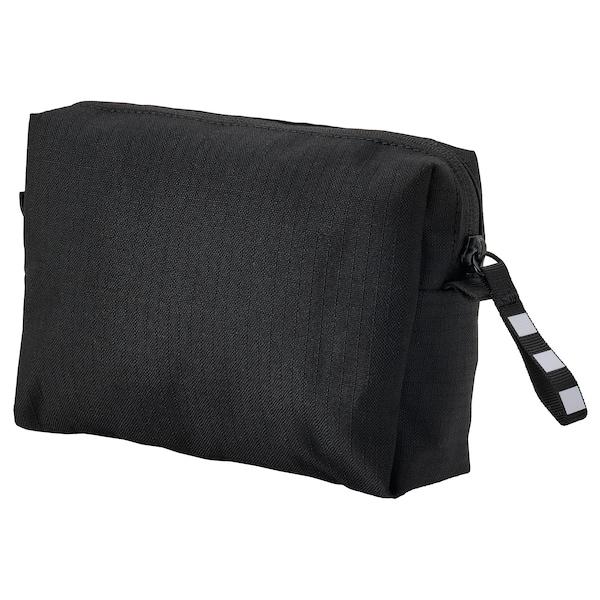 VÄRLDENS Zubehörtasche, schwarz, 16x4x11 cm