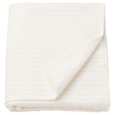 VÅGSJÖN Badelaken, weiß, 100x150 cm