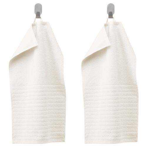 VÅGSJÖN Gästehandtuch weiß 50 cm 30 cm 0.15 m² 400 g/m² 2 Stück