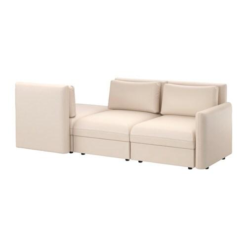 vallentuna 3er sitzelement r camiere murum beige ikea. Black Bedroom Furniture Sets. Home Design Ideas