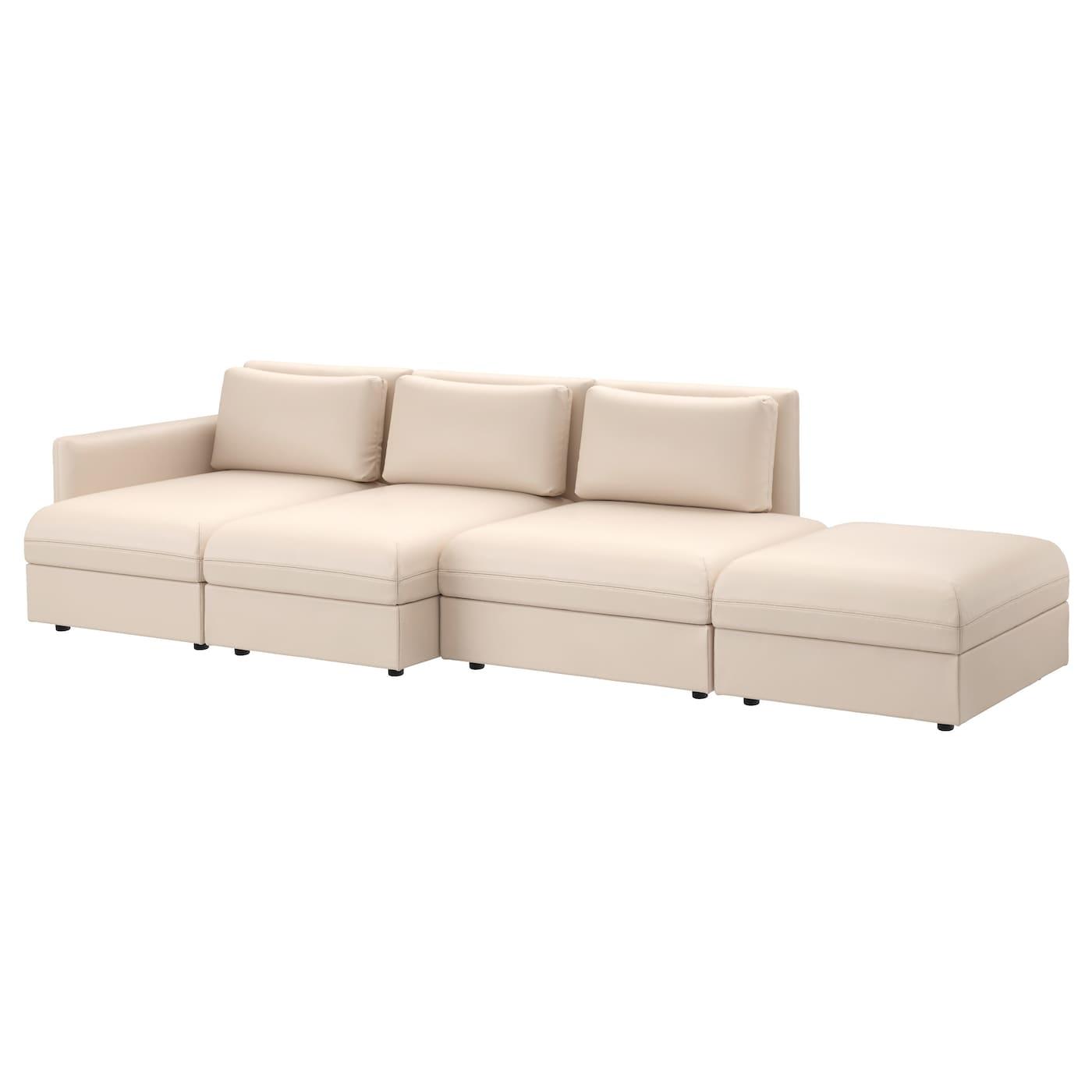 VALLENTUNA, 4er-Sofa, Murum beige, beige 691.495.03