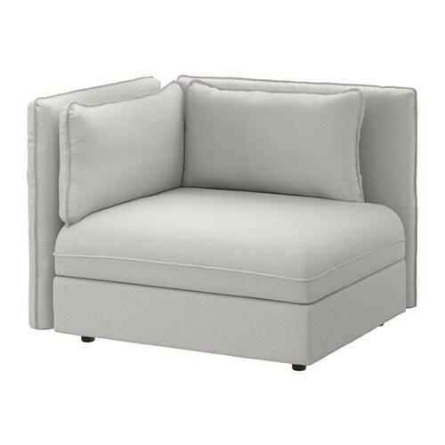 vallentuna sitzelement mit r ckenlehne orrsta hellgrau ikea. Black Bedroom Furniture Sets. Home Design Ideas