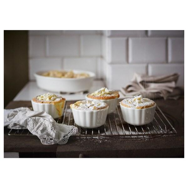 VARDAGEN Kuchen-/Pieform, elfenbeinweiß, 11 cm