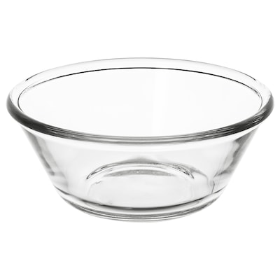 VARDAGEN Schüssel, Klarglas, 15 cm