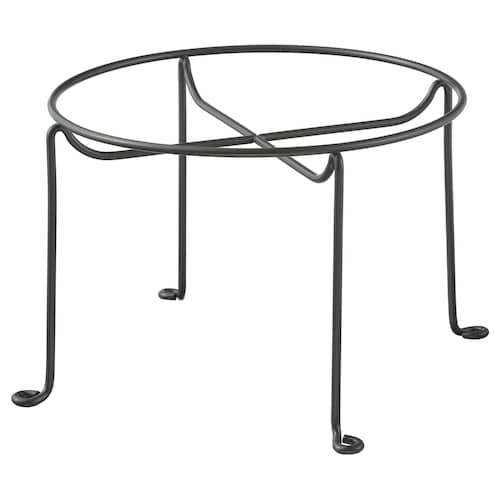 VARDAGEN Halter für Gefäß mit Zapfhahn dunkelgrau 13.5 cm 20 cm