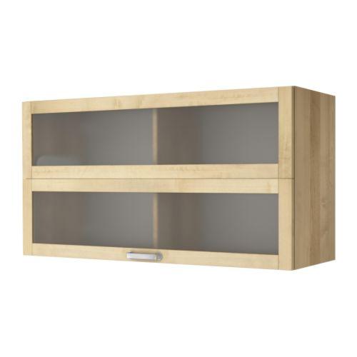 Ikea Värde Wandvitrine Birke 3349 Günstiger Bei Koettbilligarde