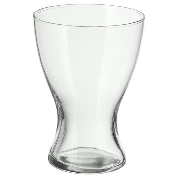 VASEN Vase, Klarglas, 20 cm