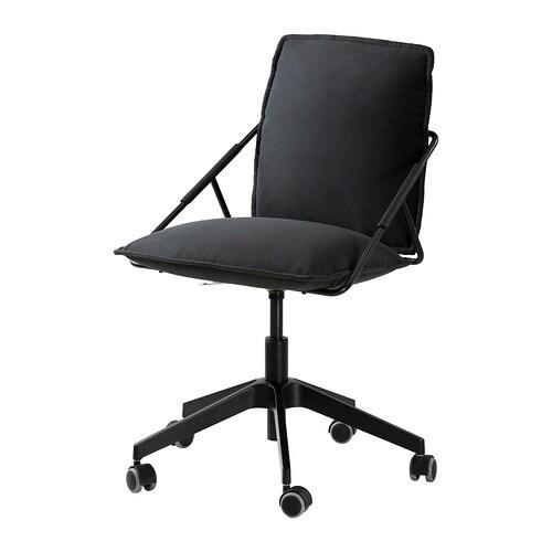Wickelkommode Aufsatz Ikea Hemnes ~ IKEA  VILLSTAD, Drehstuhl, Samsta anthrazit , Die Sitzfläche lässt