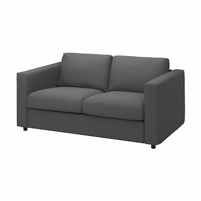 VIMLE 2er-Sofa, Hallarp grau