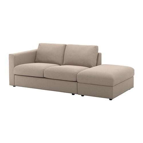 Vimle 3er Sofa Ohne Abschlusstallmyra Beige Ikea