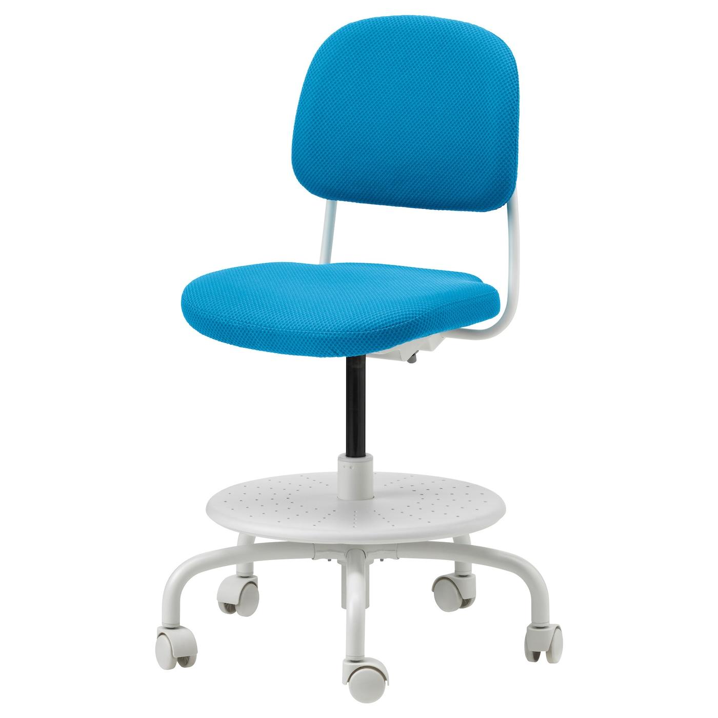 JULES Schreibtischstuhl für Kinder - rosa/weiß - IKEA