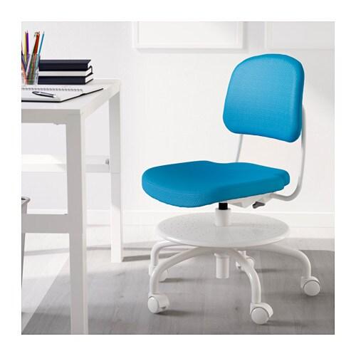 Schreibtischstuhl ikea kind  VIMUND Schreibtischstuhl für Kinder - rosa - IKEA