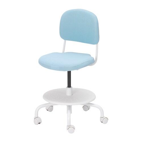 Vimund Schreibtischstuhl Fur Kinder Hellturkis Ikea