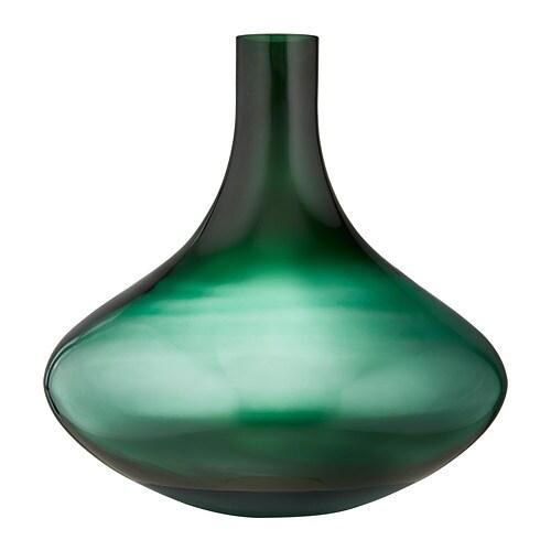 Vindfläkt Vase Dunkelgrün