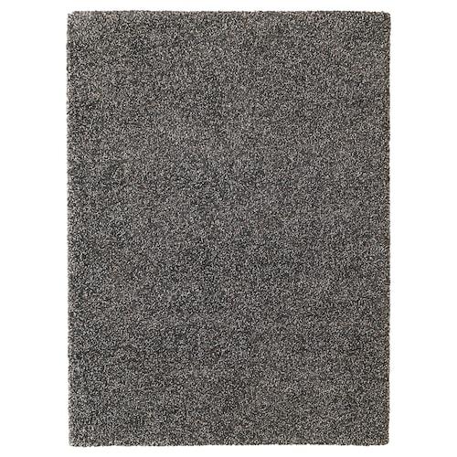 VINDUM Teppich Langflor dunkelgrau 270 cm 200 cm 30 mm 5.40 m² 4180 g/m² 2400 g/m² 26 mm