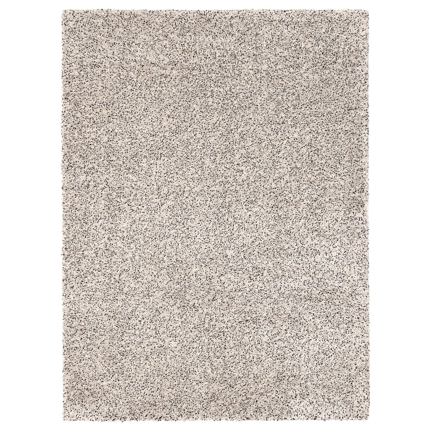 Karo Patchwork Teppich anthrazit grau Velours umkettelt 340x400 cm Teppichboden
