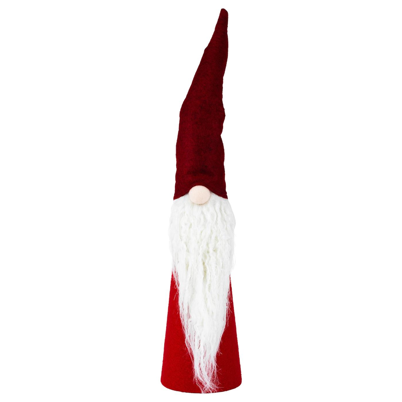 VINTER 2020 Dekoration - kegelförmig/Weihnachtsmann rot 46 cm