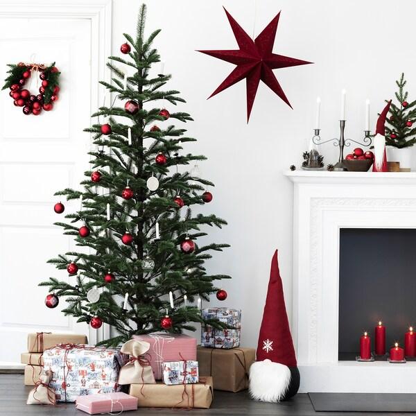 VINTER 2020 Kunstpflanze, drinnen/draußen/Weihnachtsbaum grün, 210 cm