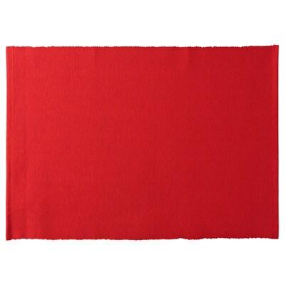VINTER 2020 Tischset, rot, 35x45 cm