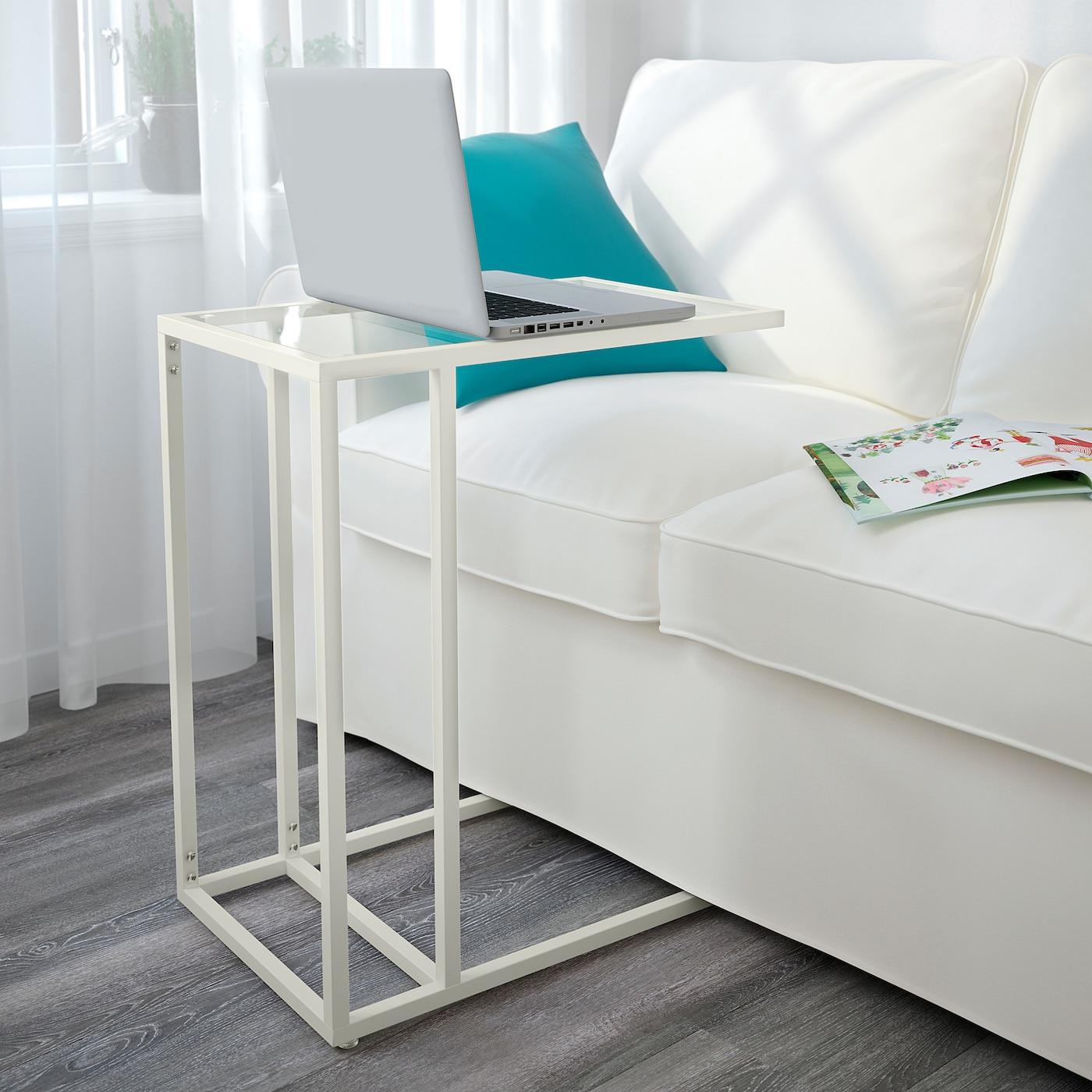 VITTSJÖ Laptopgestell weißGlas IKEA Deutschland
