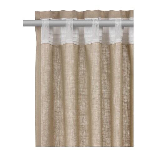 ikea gardinenschal deko schal vorhang schlaufenschal. Black Bedroom Furniture Sets. Home Design Ideas
