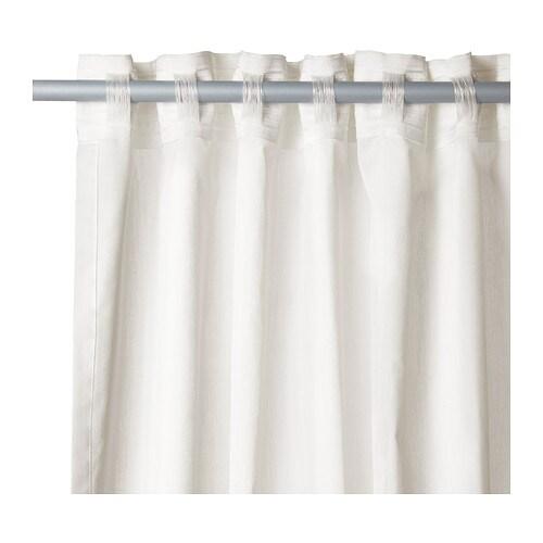 ikea gardinenschal vivan vorhang schlaufenschal gardine ebay. Black Bedroom Furniture Sets. Home Design Ideas
