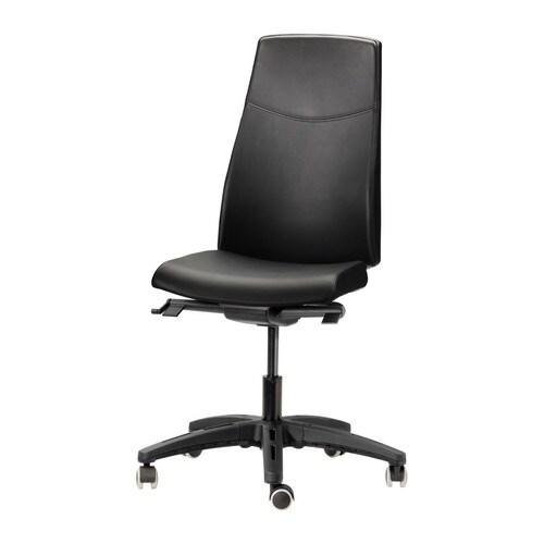 Bürostuhl ikea  VOLMAR Drehstuhl - Mjuk schwarz - IKEA