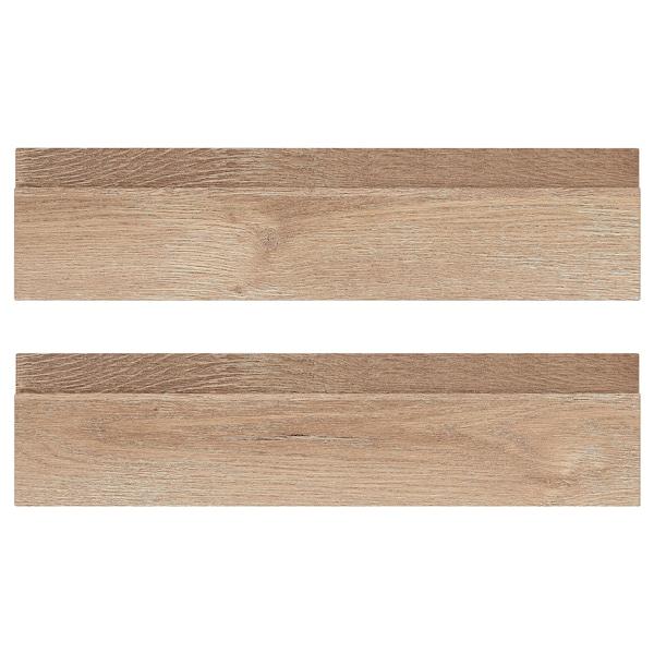 VOXTORP Schubladenfront, Eichenachbildung, 40x10 cm