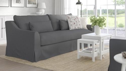 3er-Sofas, Textil