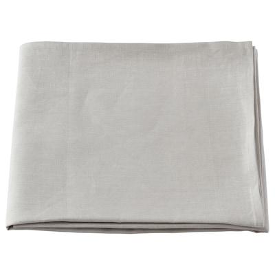 ÅKERKÖSA Dug, lysegrå, 145x320 cm