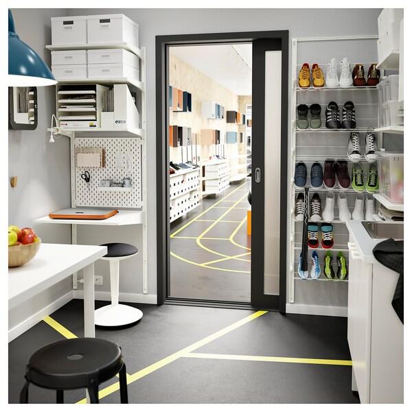 ALGOT Vægstolpehylder hvid IKEA