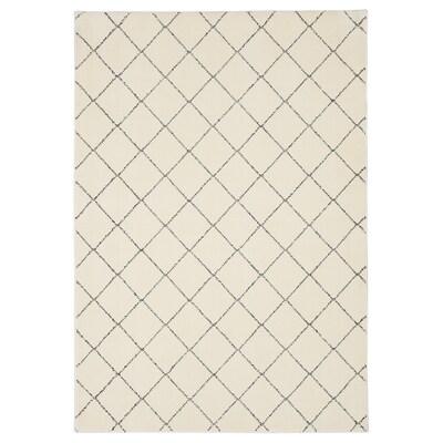 ARNAGER tæppe hvid/beige 200 cm 140 cm 2.80 m²