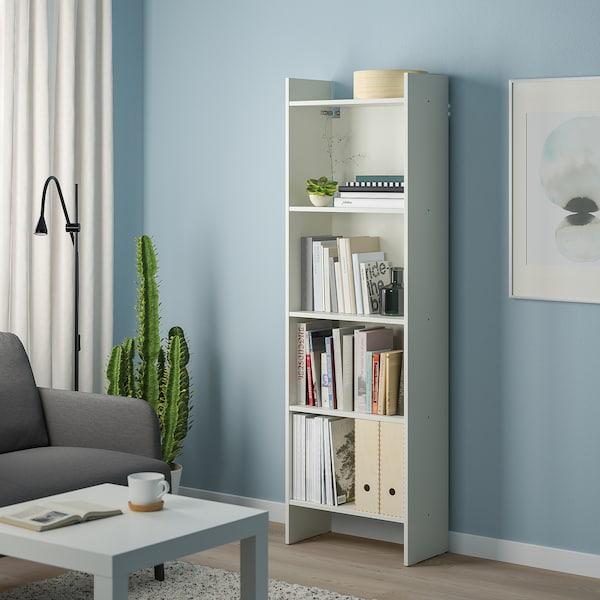 BAGGEBO Reol, hvid, 50x25x160 cm